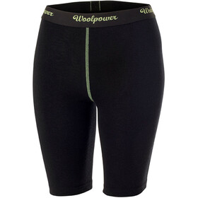 Woolpower Lite Brief Xlong Mujer, black